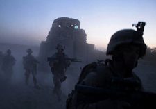 Morning in Afghanistan