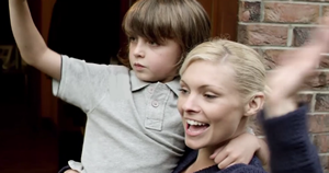 Harry Simpson and MyAnna Buring