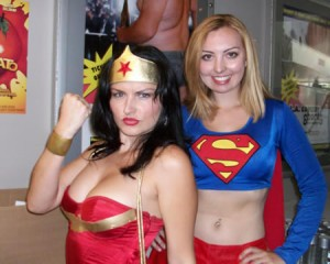 Wonder Woman and Supergirl collected the votes