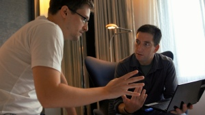 Snowden and Greenwald in Hong Kong