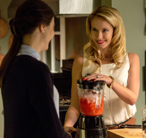 Anna Camp plays Sabrina, the cheated on wife in 'Caught' who just happens to be a sociopath