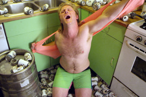 Dude Bro Party Massacre guy renders his clothes because all the beer is gone